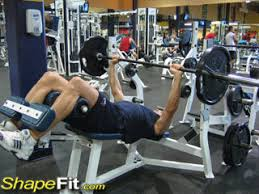 Decline Barbell Bench Press  Exercise Videos U0026 Guides Decline Barbell Bench
