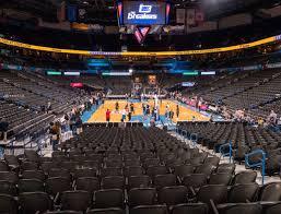 Chesapeake Energy Arena Section 101 Seat Views Seatgeek