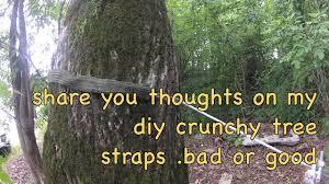 d i y crunchy hammock tree straps
