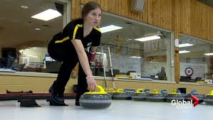 New Brunswick amputee curler inspires young athletes at the U18 nationals -  New Brunswick | Globalnews.ca