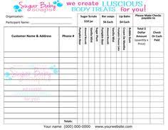 fundraising forms fundraiser order form order form template and fundraising