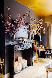 How to Create the Coziest Home Ever, on a Budget. Candles In FireplaceBlack  ...