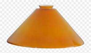 amber glass lamp shade one vintage hand blown hanging lampshade 473378