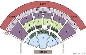 Pnc Music Pavilion Seating Chart Charlotte Www
