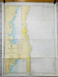 Us Map Chart Details About Vintage 1969 Lake Michigan Milwaukee Us Army Nautical Sailing Map Chart 74 Diy