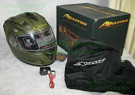 Akuma Helmet Size Chart Brand New Akuma Apache Motorcycle Helmet X Large Led Lights Us Army Ah 64 Ebay