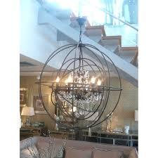 full size of large metal sphere chandelier wood metal globe sphere chandelier catalina lighting 5 light