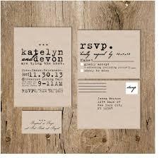 plain rsvp cards cursive vintage typewriter wedding invitation package deposit