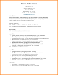 Resume Word Template Free Resume Template