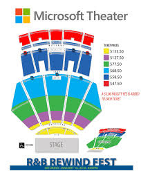 Microsoft Theater Concert Seating Chart Bedowntowndaytona Com