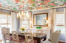 how about some color for the dining room ceiling design laura u