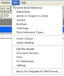 apa format on word apa format styles for typing papers in apa style reference point