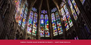 stained glass windows in france show
