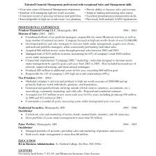Sample Account Executive Resume National Account Manager Resume ...