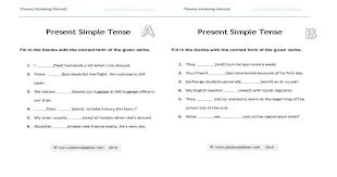 Present Simple Consolidation Worksheet | photocopiables