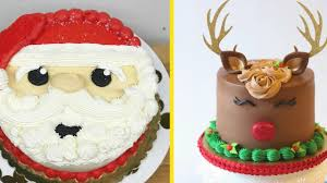 Amazing Cake Decorating Video 4 Christmas Cake Decoration Idea