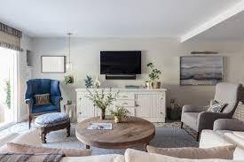 coastal chic living room