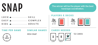 snap cardgames101 learn to play the