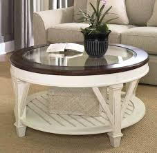 round white wood coffee table white wood round coffee table with glass top white wooden coffee table with drawers