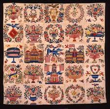 Home and Country: American Quilts and S&lers in the DAR Museum ... & Baltimore Album Quilt Top Adamdwight.com