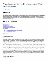 academic paper format technical or academic paper template