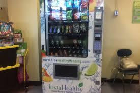 Healthy Vending Machines In Schools Custom Healthy Options For Schools