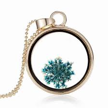 glass floating locket necklace glass heart design pendant necklace stainless steel gold plated plant memory for charms yh n 024 locket necklace floating