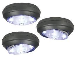 battery lighting solutions. Rite Lite 3-Pack Battery Powered LED Puck Lights - Lighting Solutions