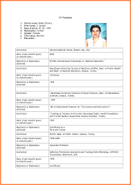 Fine Resume Blank Photos Documentation Template Example Ideas