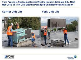 york gas package units. carrier unit lift york gas package units