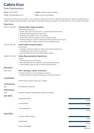 Resume Examples For Retail Sales Associate Retail Sales Resume Templates Representative Example Cv