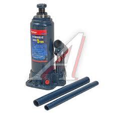 M90504S <b>Домкрат бутылочный</b> 5т 216-413мм с клапаном в <b>кейсе</b> ...