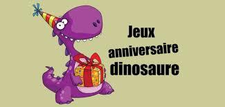 Kit chasse au trésor gratuit. Jeux Anniversaire Dinosaure Pour Les Enfants De 3 Ans Et