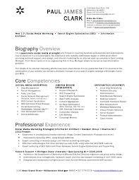 Social Media Resume Inspiration 319 Paul Clark Social Media Resume
