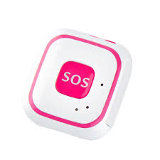 rf 28v mini personal gps tracker with wifi in white and pink from asta gps trackers