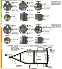 connector wiring diagrams jpg car and bike wiring pinterest how to wire trailer lights to truck at Most Common Trailer Wiring Harness