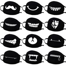 Cute Mouth Mask Designs Masks Eye Masks Clothing Shoes Accessories In 2020