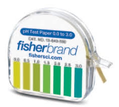 Ph Paper And Other Test Strips