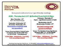 flyers forum january 2016 havering interfaith forum