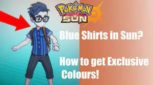 How to get Exclusive Colours for your Clothes! - Pokémon Sun and Moon -  YouTube