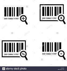 Barcode Design Zoom Barcode Design Stock Vector Art Illustration Vector