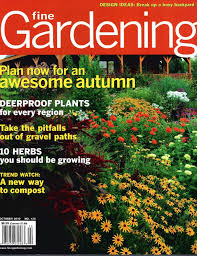 fine gardening magazine. Fine Gardening Magazine June 2011 - Container Design Challenge Featuring Barbara\u0027s Glass Sculptures