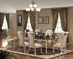 Dining Room Valance Ideas  Drop In Leaves Wooden Kitchen - Dark wood dining room tables