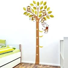 wall growth chart decal