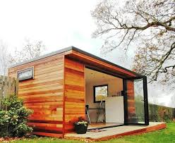 outside office shed. Contemporary Garden Rooms Shed Bifold Doors Outside Office S