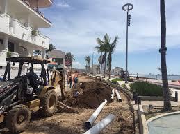 Resultado de imagen para concreto hidráulico de la avenida Del Mar mazatlan