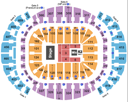 American Airlines Arena Seating Chart Eagles Americanairlines Arena Seating Chart Miami