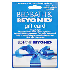 bed bath beyond non denominational gift card1 0 ea