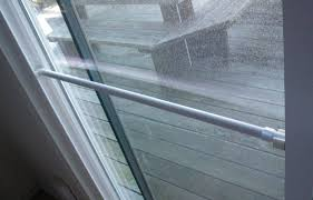picture of build a lock bar for a sliding glass door