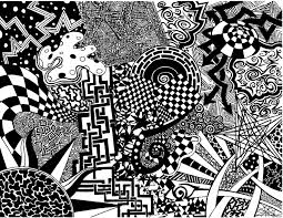 Abstract Art Black And White Patterns Abstract Black And White Drawings At Paintingvalley Com
